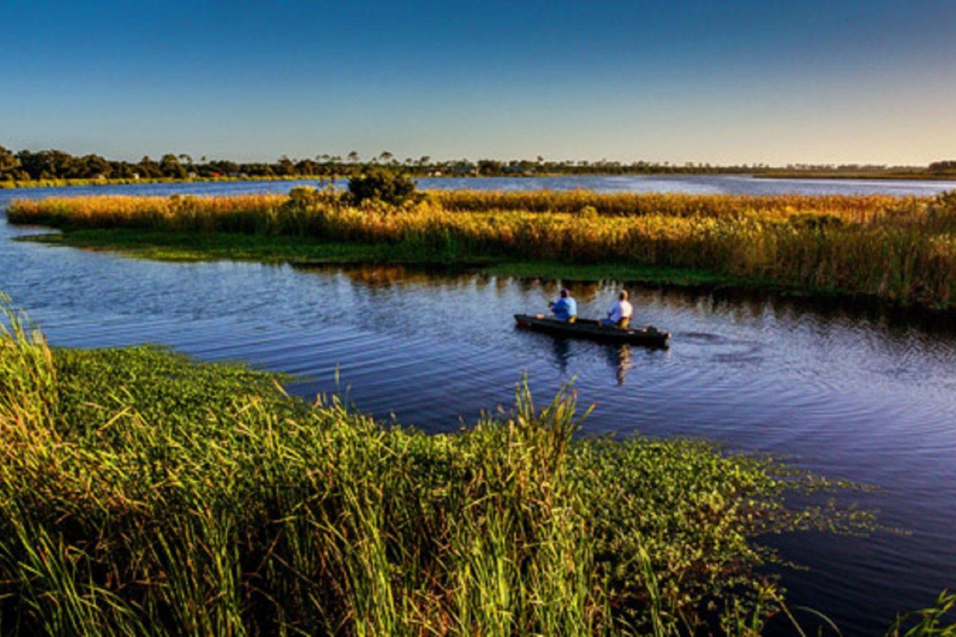 Fishing on Middle Lake